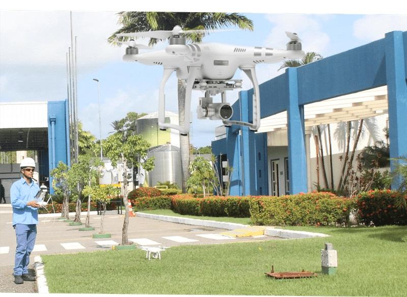 Inspeção de Telhados com Drone em Recife