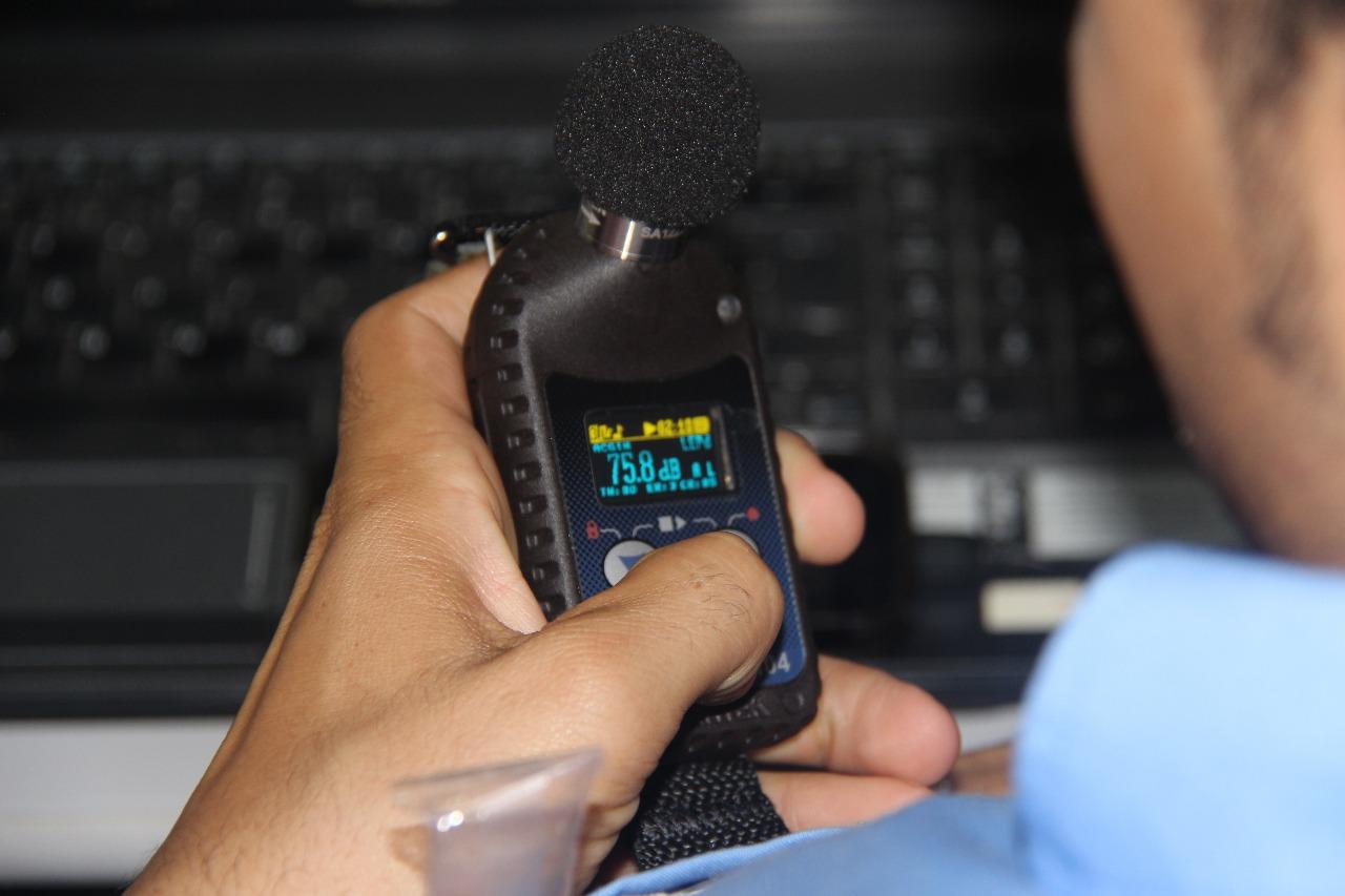 Treinamentos de equipamentos de Higiene Ocupacional Ranger SMS