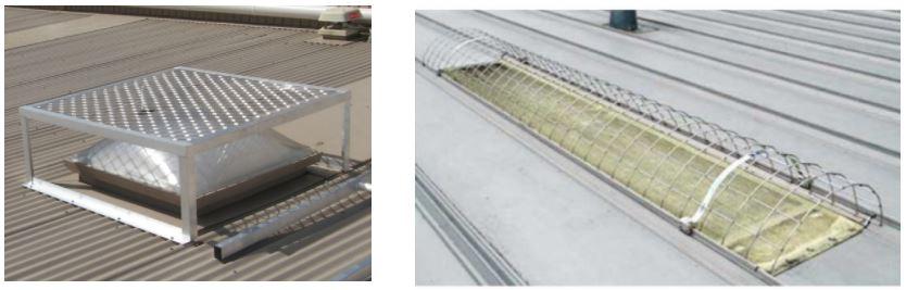 Telas de Proteção para telhados