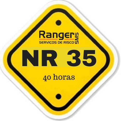 NR35 - Supervisor de trabalhos em altura