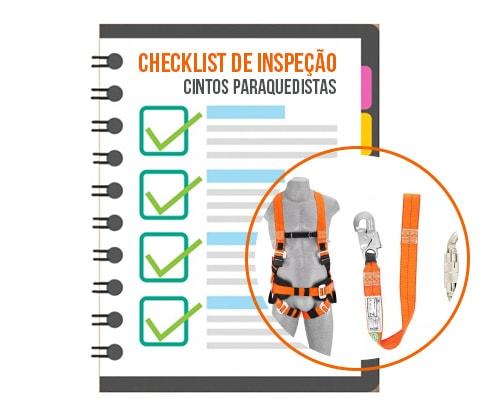 Chesk list para cinto paraquedista
