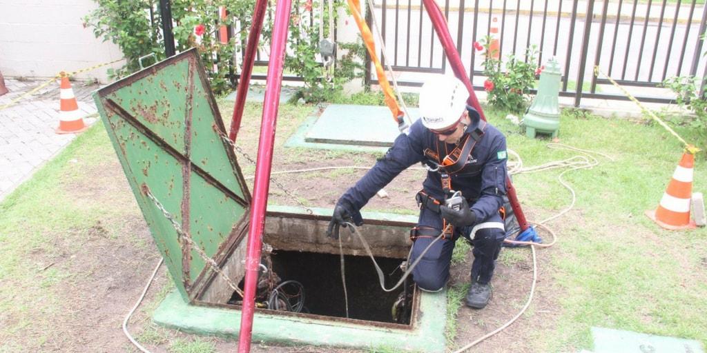 Multigás Portátil: Detector de Gás em Espaço Confinado