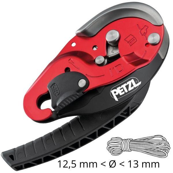 Com Função Anti-Pânico Petzl para corda de 12,5 a 13 mm