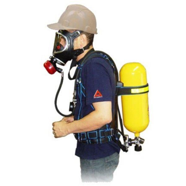 Proteção respiratória para resgate em espaço confinado