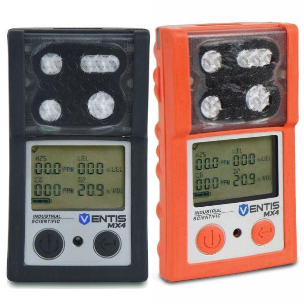 Modelos Ventis MX4 para monitoramento de 4 gas.