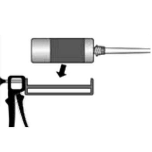 Para usar com aplicação de chumbador químico