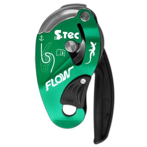 Descensor flow d05 para trabalho em altura e acesso por corda