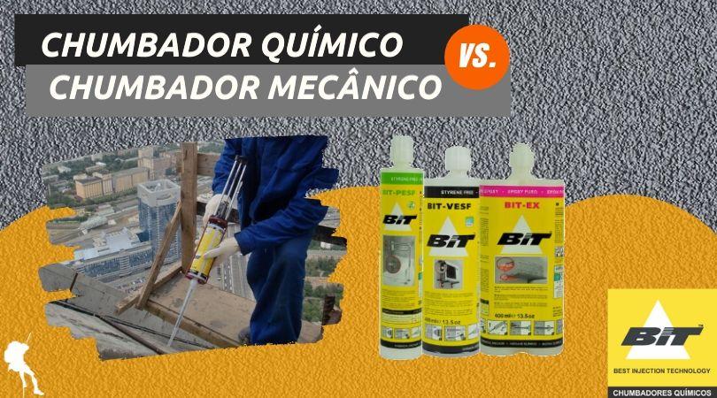 Chumbador Químico e o Chumbador Mecânico: diferenças e vantagens