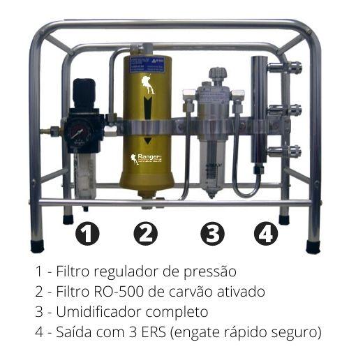 Cavalete filtrante Arcofil Air Safety