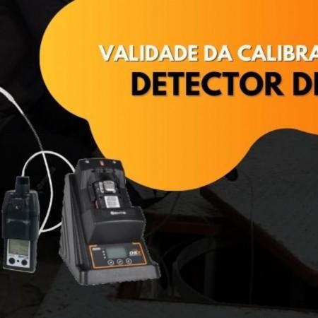 Validade da Calibração de Detector de Gás