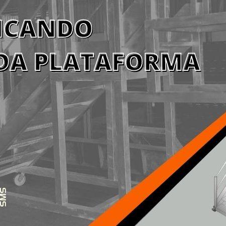 Escada Plataforma: confira o passo a passo completo para fabricação